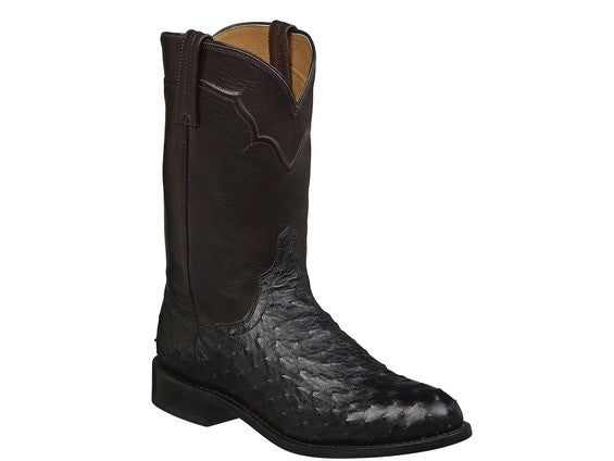 Lucchese Men's Black and Cordovan Coleman Boots M1632