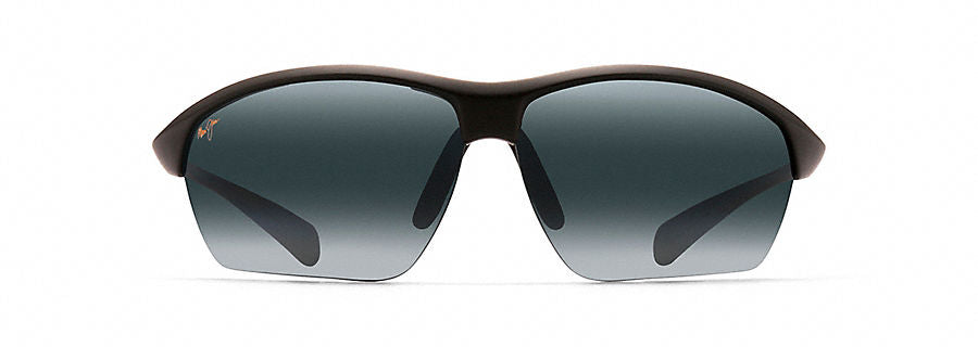 Maui Jim Stone Crushers Sunglasses in Matte Black with Neutral Grey Lens