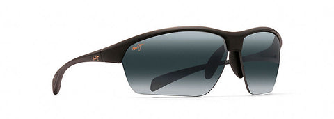 Maui Jim Breakwall Sunglasses in Gloss Black with Neutral Grey Lens