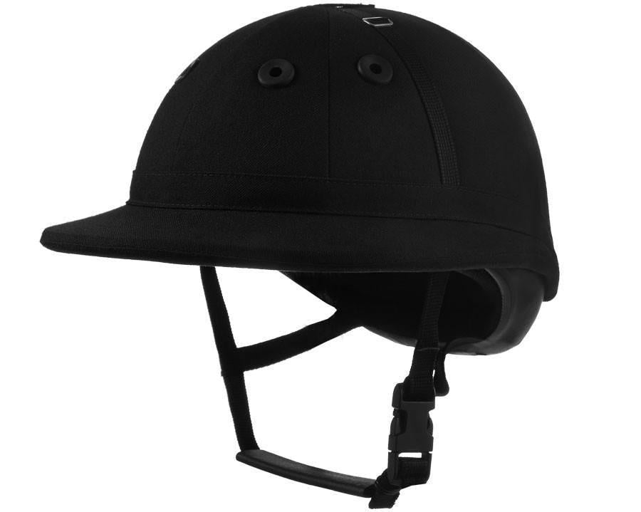 Charles Owen Palermo LEATHER  Polo Helmet