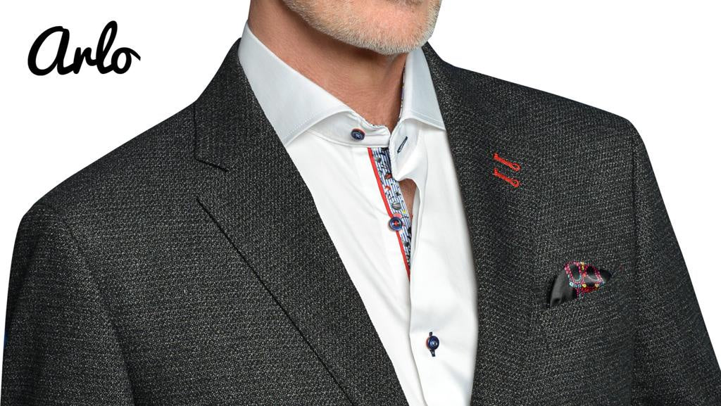 7 Downie St. Mens Grey Arlo Blazer/ Sports Jacket - Saratoga Saddlery & International Boutiques