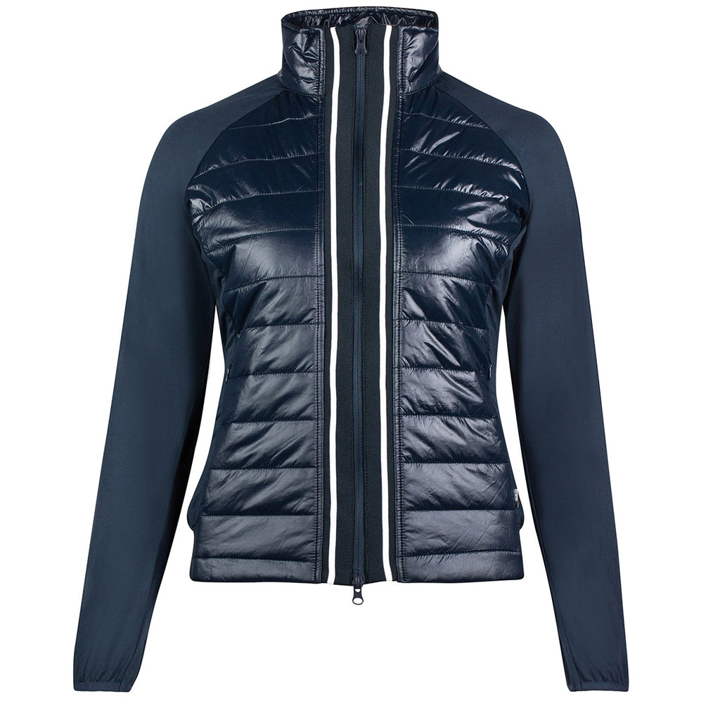 Horze Robyn Womens Combo Jacket in Navy 33463 - Saratoga Saddlery & International Boutiques