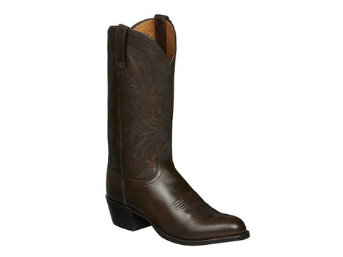 Lucchese Women's Darlene Black Cherry Goat Boot - N4788