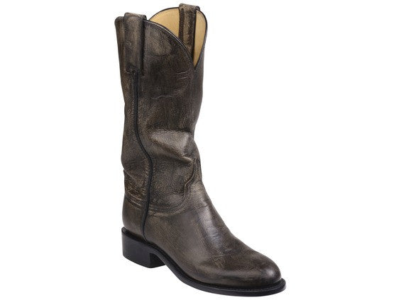 Lucchese Women's Blair Boot GY5502 - Anthracite Grey - Saratoga Saddlery & International Boutiques