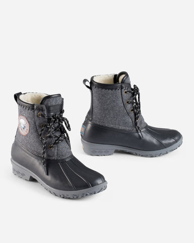 Santana Canada Tourismo Navy And Rust Boot