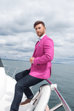 7 Downie St. Men's Fairfield Pink Blazer Sports Jacket - Saratoga Saddlery & International Boutiques