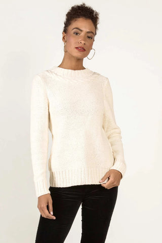 Liverpool Sadie Crop W/Embroidered Cuff LM7127