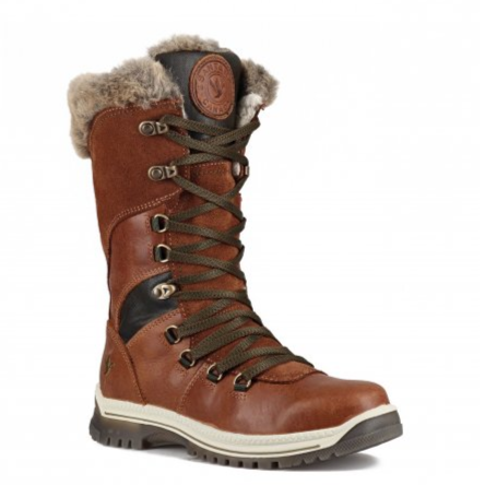 Santana Canada Women's Luxury Winter Boot Marinda in Cognac Made in Italy Canada Women's Winter Boot Marinda Cognac Boot - Saratoga Saddlery & International Boutiques