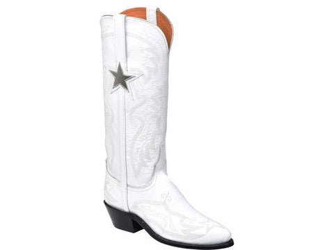 Ammann Apres Sky Calf Hair Boot in White