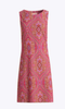 Jude Connally Womens Beth Dress in Paisley Medallion Pink - Saratoga Saddlery & International Boutiques