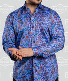 7 Downie Street Long Sleeve Mens Sequenced Shirt - Saratoga Saddlery & International Boutiques