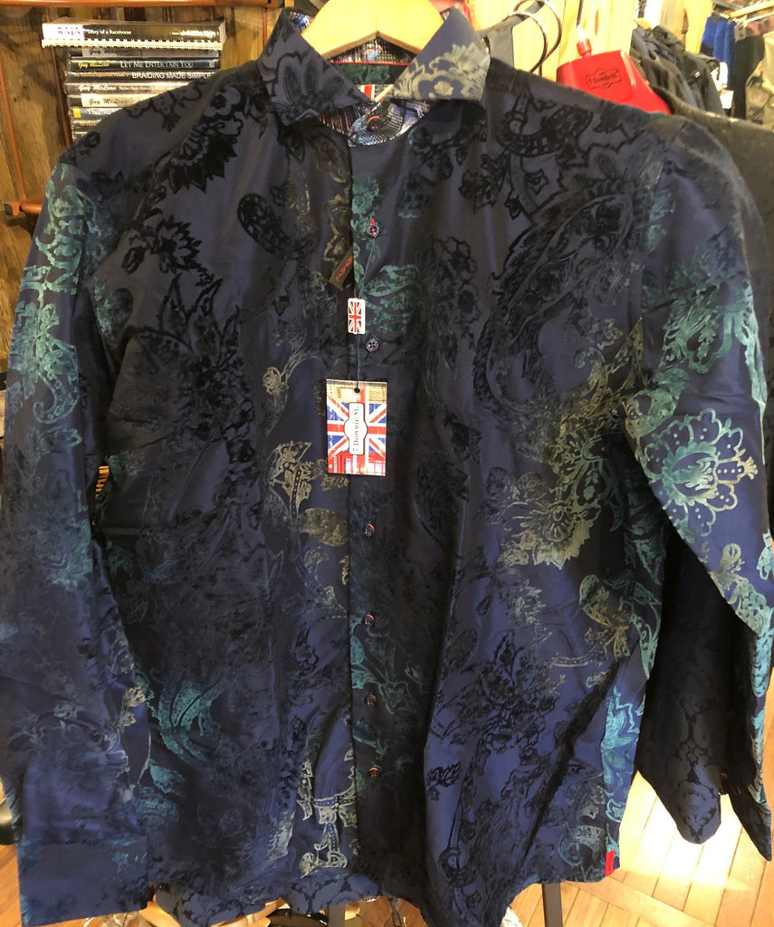 7 Downie St Chesterfield LS Dress Shirt - Saratoga Saddlery & International Boutiques