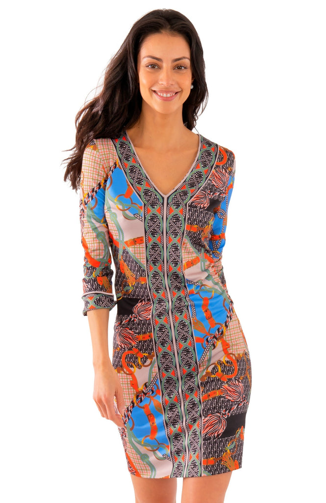Gretchen Scott Jersey Bordertown Dress - Ditto - Saratoga Saddlery & International Boutiques