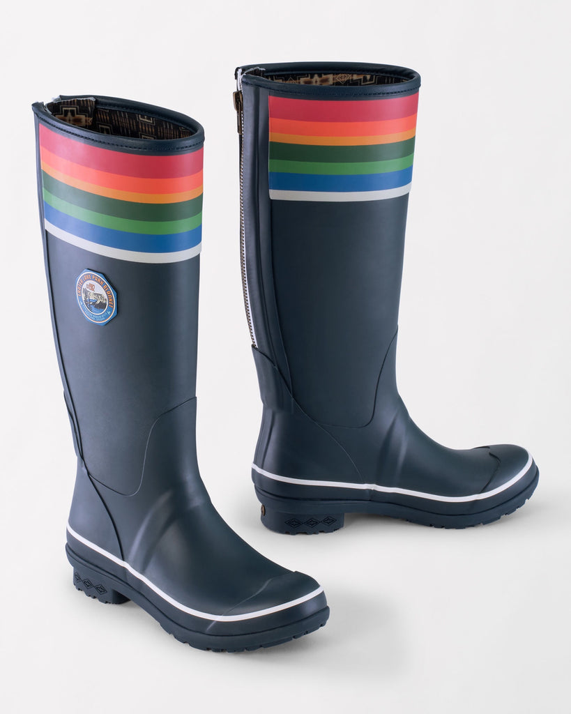 Pendleton Tall Rain Boots in Crater Lake Blue