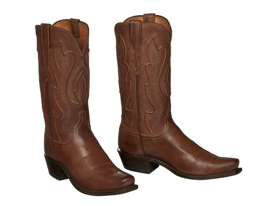 f8166f1ee00 Lucchese Men's Cole Ranch Hand Boot M1004 - Tan