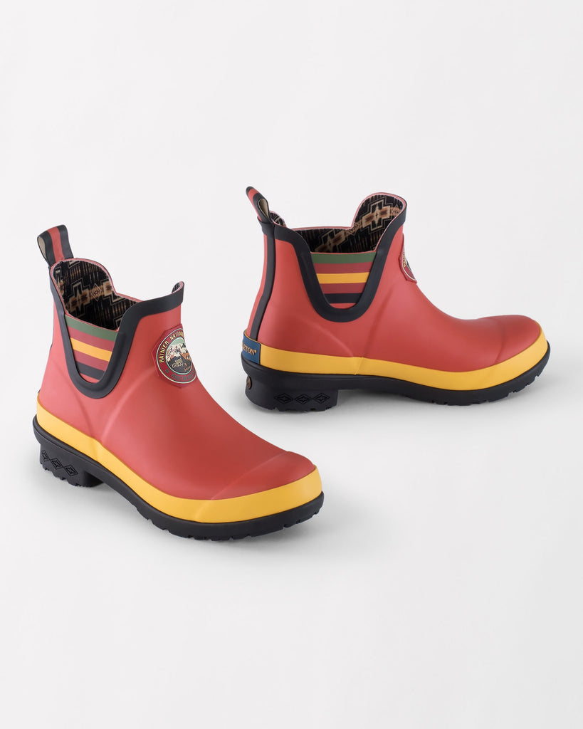 Pendleton National Park Chelsea Rain Boot Rainier Red - Saratoga Saddlery & International Boutiques