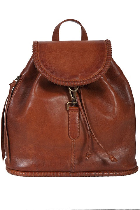 Scully B178 Lamb Leather Backpack - Saratoga Saddlery & International Boutiques