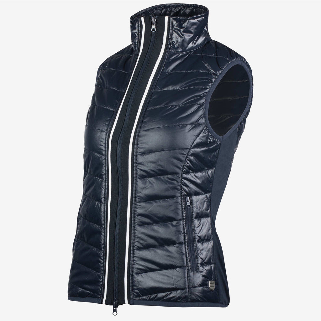 Horze Ruby Womens Padded Vest in Navy 33468 - Saratoga Saddlery & International Boutiques