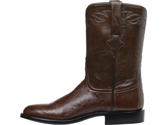 Lucchese Men's Ward Ostrich Roper GY3002 - Sienna/Antique Tobacco