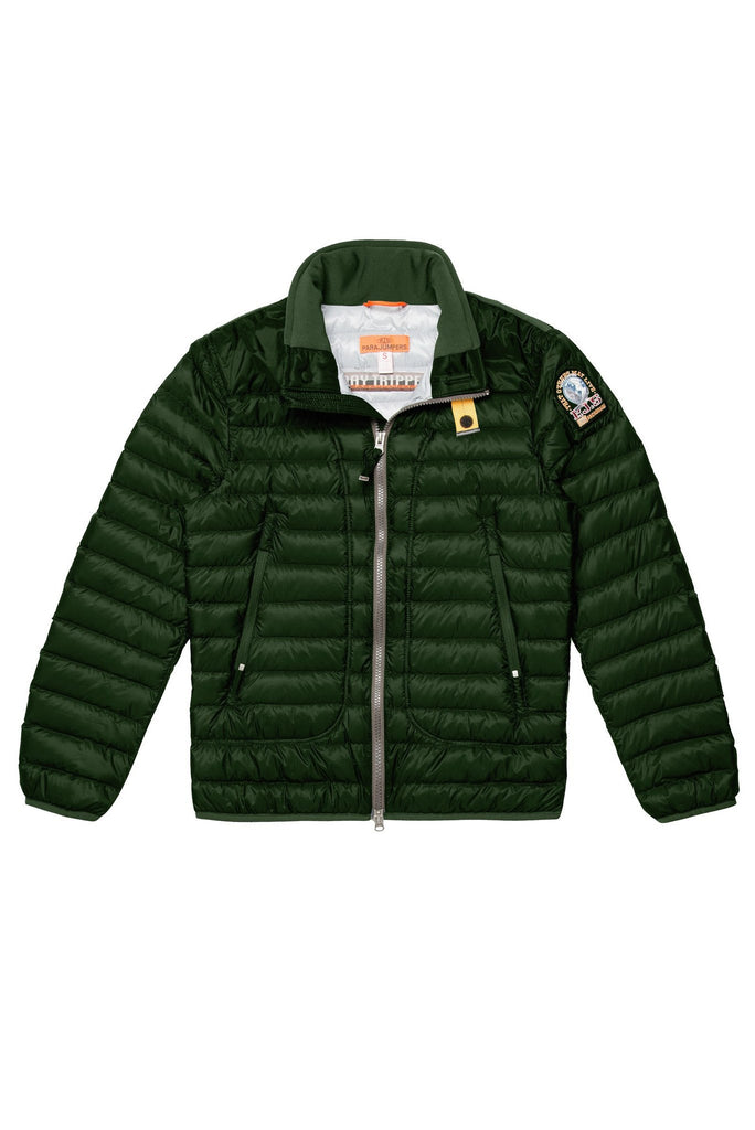 Parajumpers Kids Arthur Down Jacket in Cactus Green