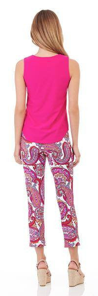 Jude Connally Ali Top in Fuchsia