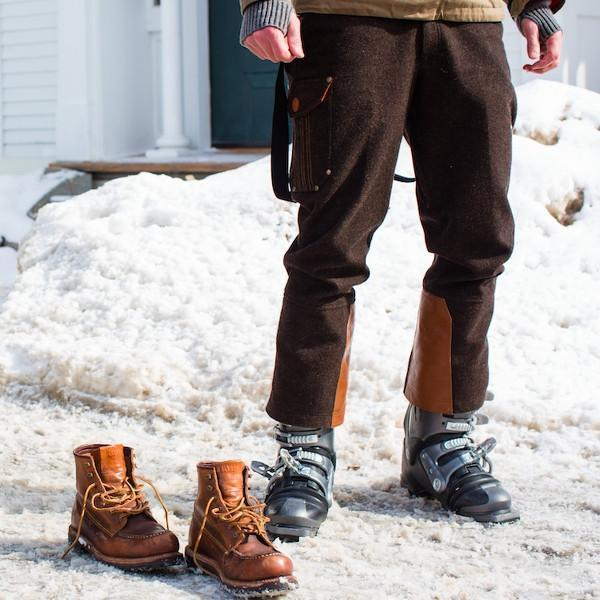 Alps & Meters Men's Alpine Winter Trouser Ski Pant Chocolate ON SALE! - Saratoga Saddlery & International Boutiques