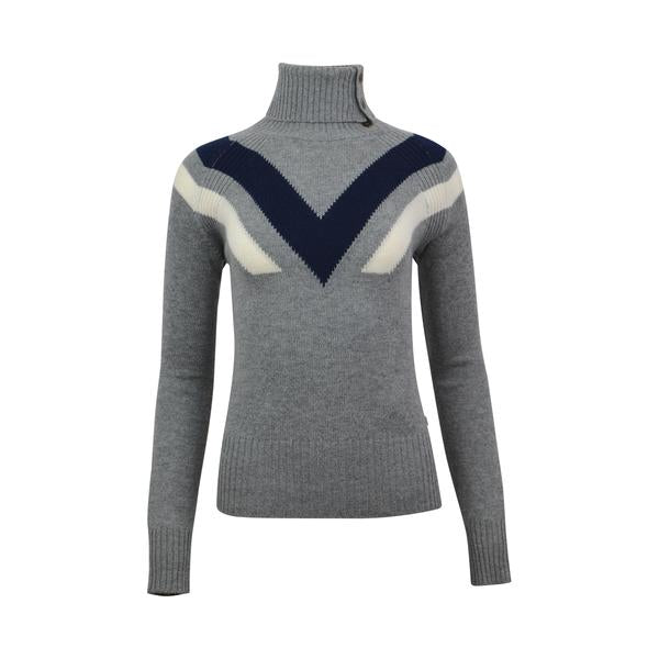 Alps & Meters Women's Ski Race Knit Sweater