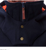 Alps & Meters Alpine Hooded Vest in Navy - Saratoga Saddlery & International Boutiques