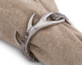 Vagabond House Pewter Antler Napkin Ring