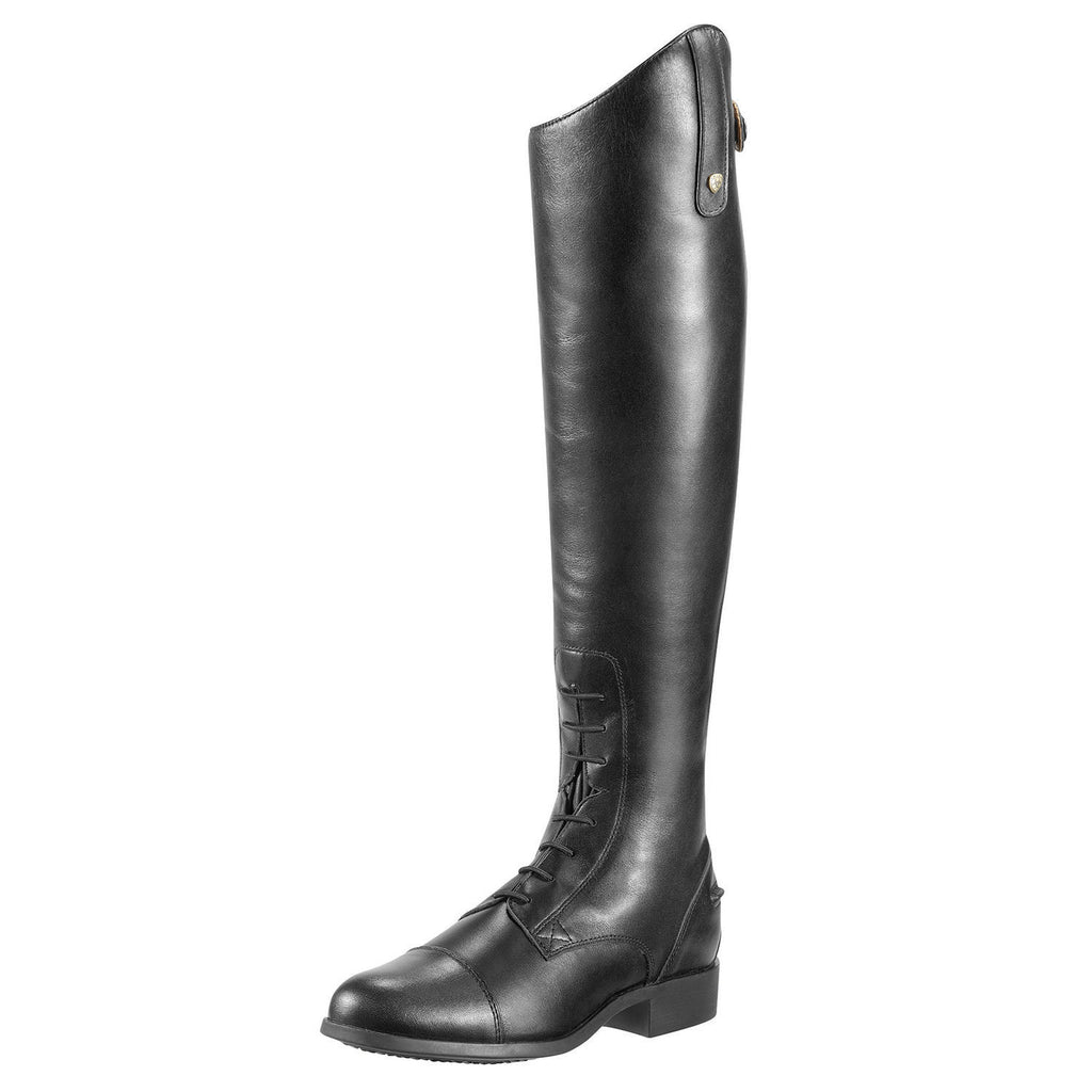 Ariat Men's Heritage Field Zip Tall Black Riding Boot