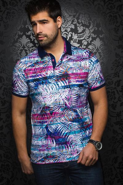 Au Noir Jordan Men's Polo Shirt in Multi
