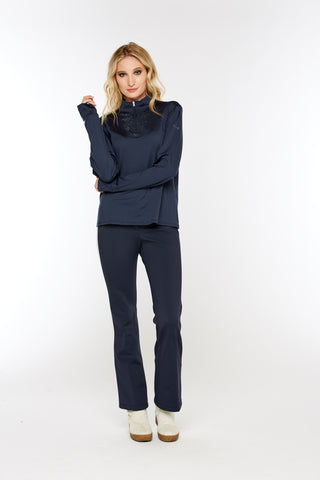 Horze Supreme Lanie Women's Club Fleece in Navy