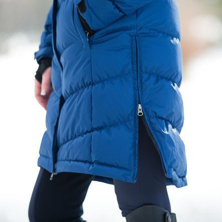 B Vertigo Women's Elina Down Long Winter Coat On Sale! - Saratoga Saddlery & International Boutiques