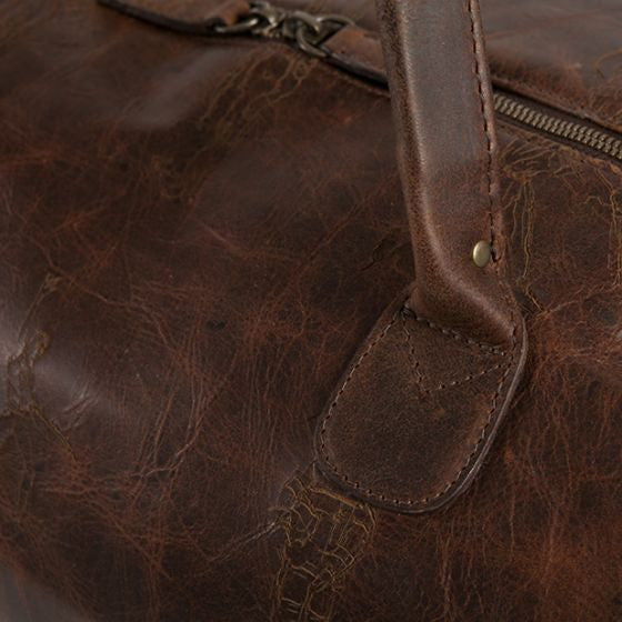 Moore and Giles Richard Haines Benedict Weekend Bag - Baldwin Oak