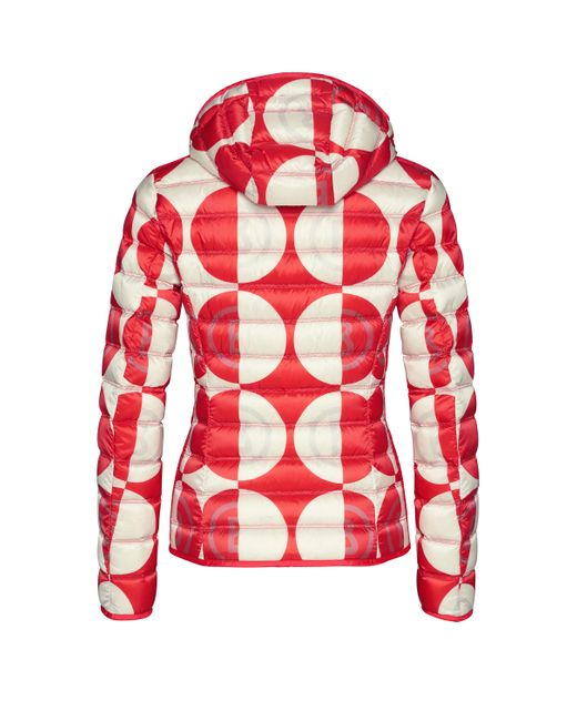 Bogner Sport - Women's Fabia Down Second Layer Jacket in Red - ON SALE!