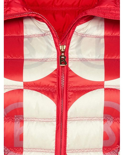 Bogner Sport - Women's Fabia Down Second Layer Jacket in Red 40% OFF ON SALE! - Saratoga Saddlery & International Boutiques