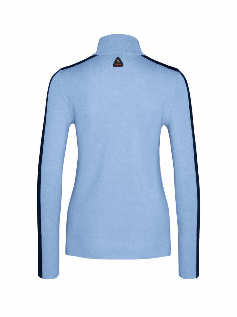 Bogner Fire + Ice Women's Talia Glacier Blue Retro Knit Sweater