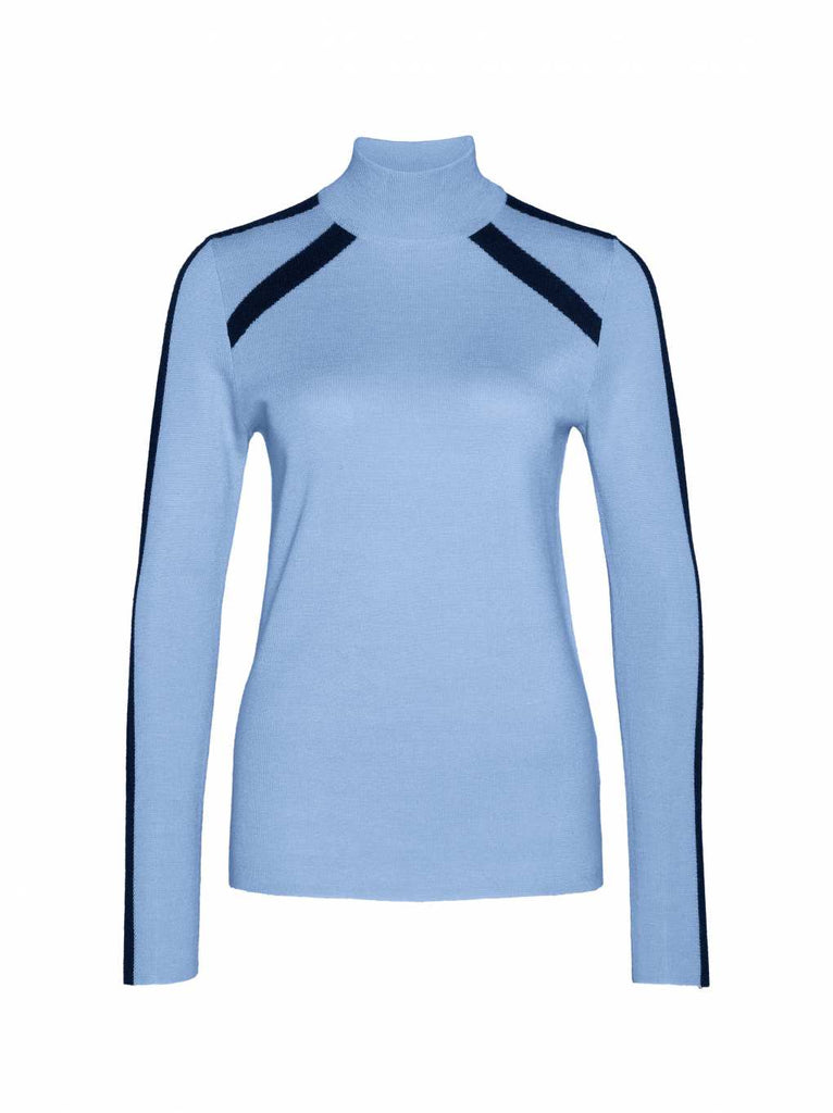Bogner Fire + Ice Women's Talia Blue Retro Knit Sweater