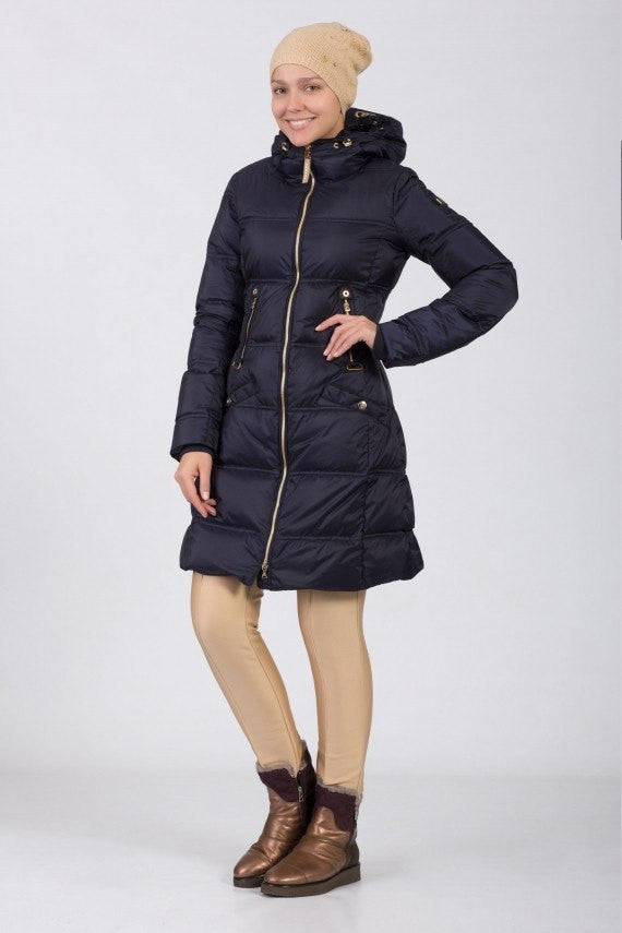 Bogner Women's Cara-D Long Down Coat