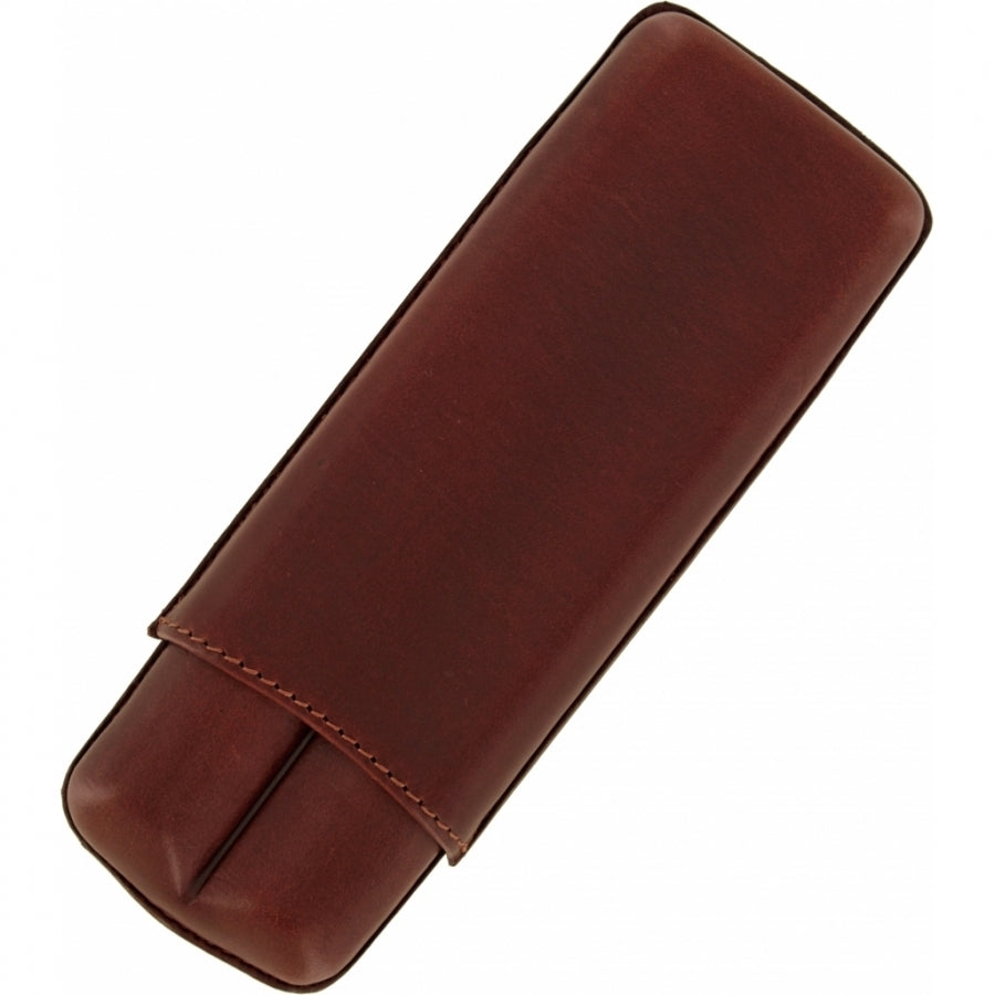 Brighton Cohiba Cigar Case Leather in Brown FW20 - Saratoga Saddlery & International Boutiques