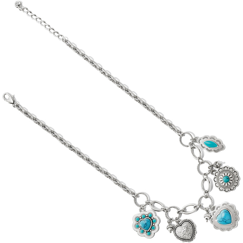 Brighton Southwest Dream Spirit Charm Necklace JM2853 - Saratoga Saddlery & International Boutiques