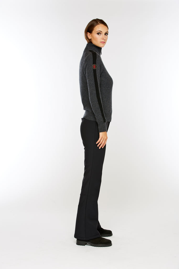 M. Miller Touring Cashmere Half Zip Sweater 40% OFF ON SALE! - Saratoga Saddlery & International Boutiques