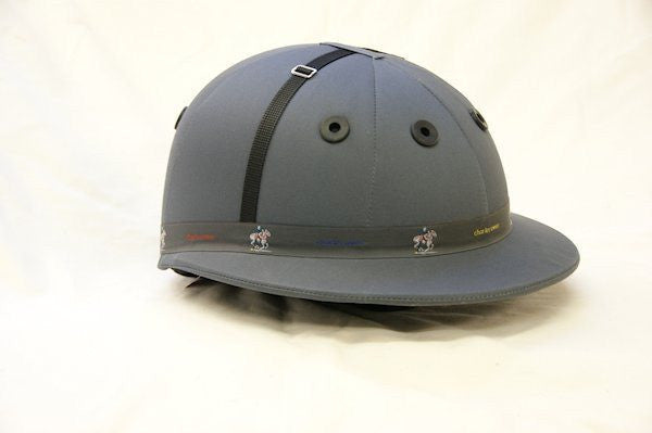 Charles Owen Polo Palermo Grey Helmet - FREE SHIPPING!