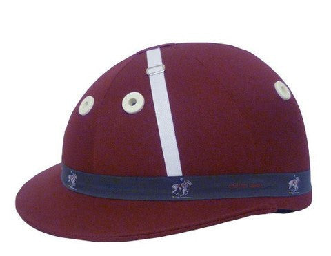 Charles Owen Polo Palermo Maroon Helmet - FREE SHIPPING!