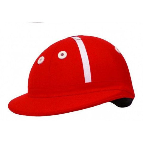 Charles Owen Polo Palermo Scarlet Red Helmet - FREE SHIPPING!