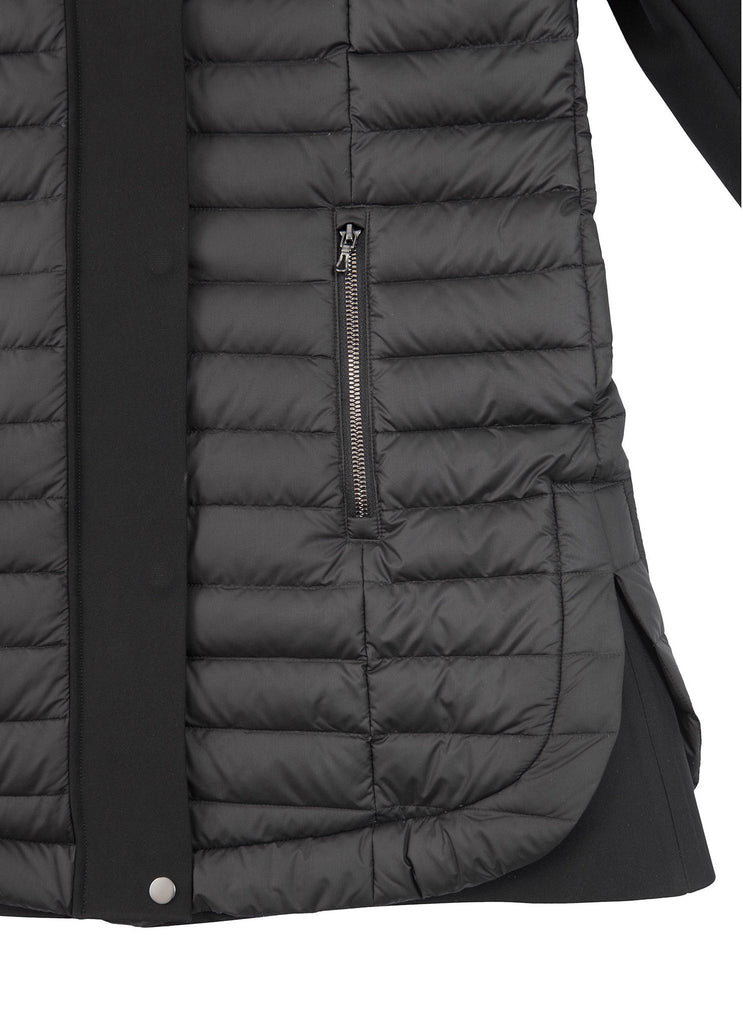 Colmar Women's Empire Down Jacket in Black ON SALE! - Saratoga Saddlery & International Boutiques