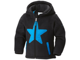 Columbia Kids' Star Bright Fleece Full Zip Hoodie Jacket Black