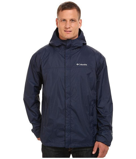 Columbia Men's Watertight II Rain Jacket Navy Blue