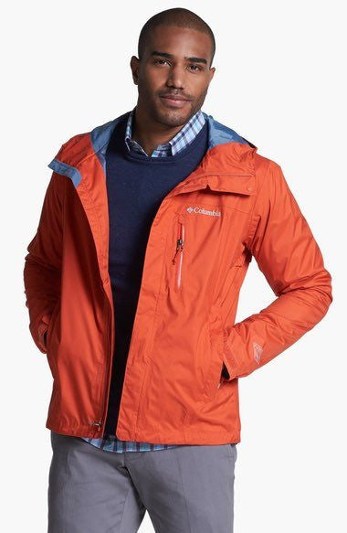 Columbia Men's Watertight II Rain Jacket Orange
