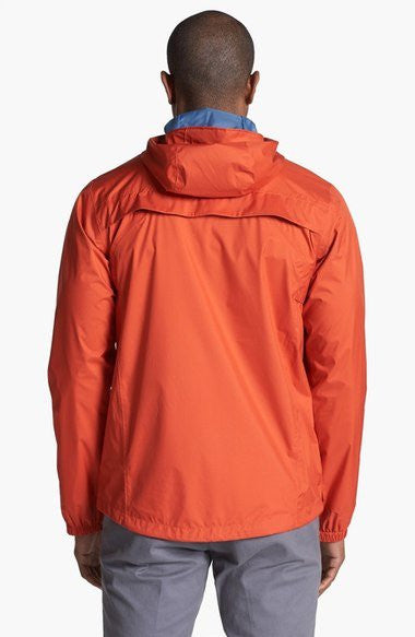 Columbia Men's Watertight II Rain Jacket Orange Hooded Coat